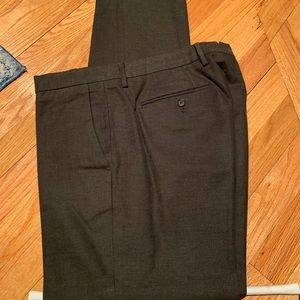 Bonobos Stretch Cotton Dress Pants 33/32 Olive